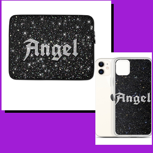 Angel Laptop Sleeve and Phone Case Duo