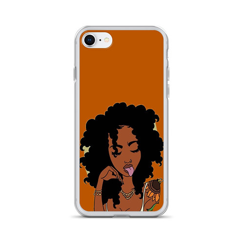 Sunflower Fro iPhone Case