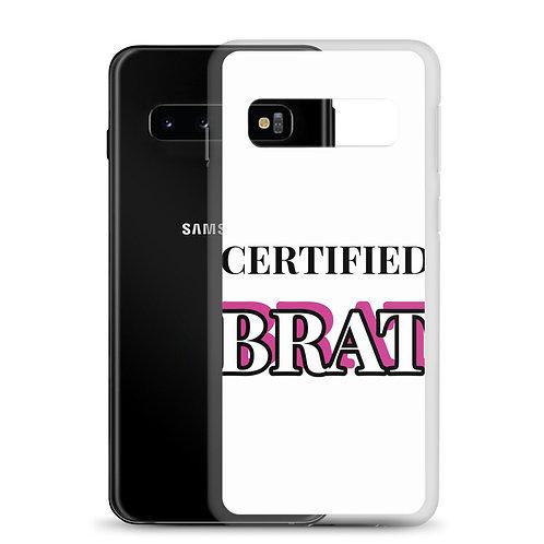 Certified Brat Samsung Case