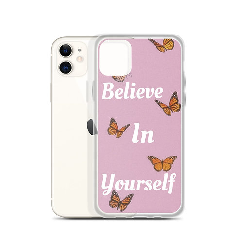 Believing Butterfly iPhone Case