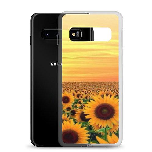 Sunflower Sunset Samsung Case