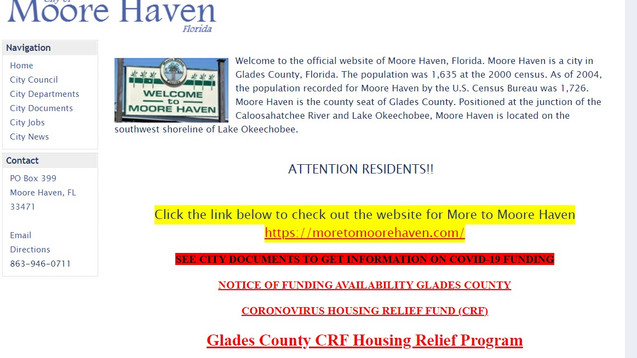 City of Moore Haven