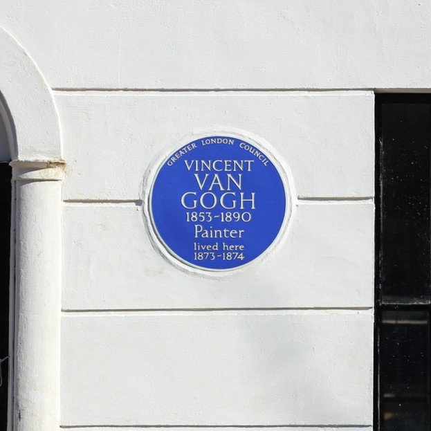 Van Gogh's House - 87 Hackford Road