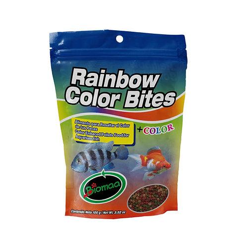 RAINBOW COLOR BITES Bolsa Pouch