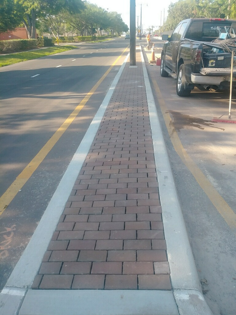 median pavers