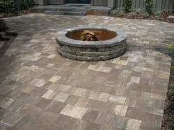 patio pavers and fire pit longwood orlando