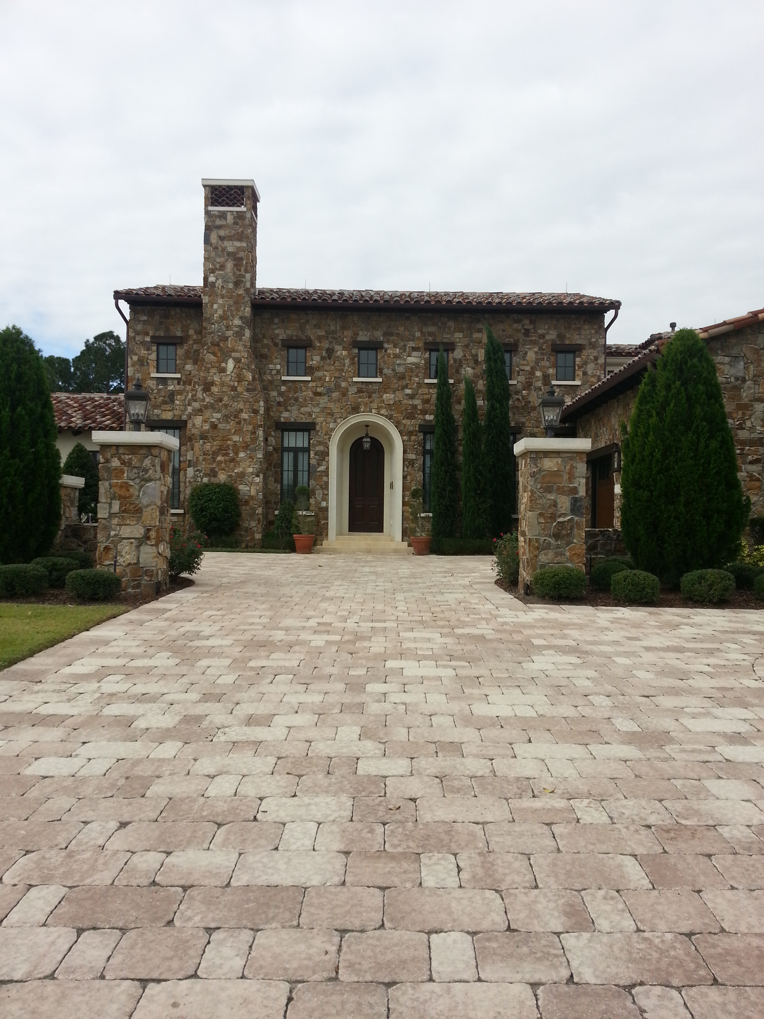 pavers orlando for driveway