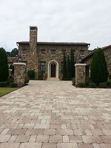 driveway pavers orlando by roman roads hardscapes inc