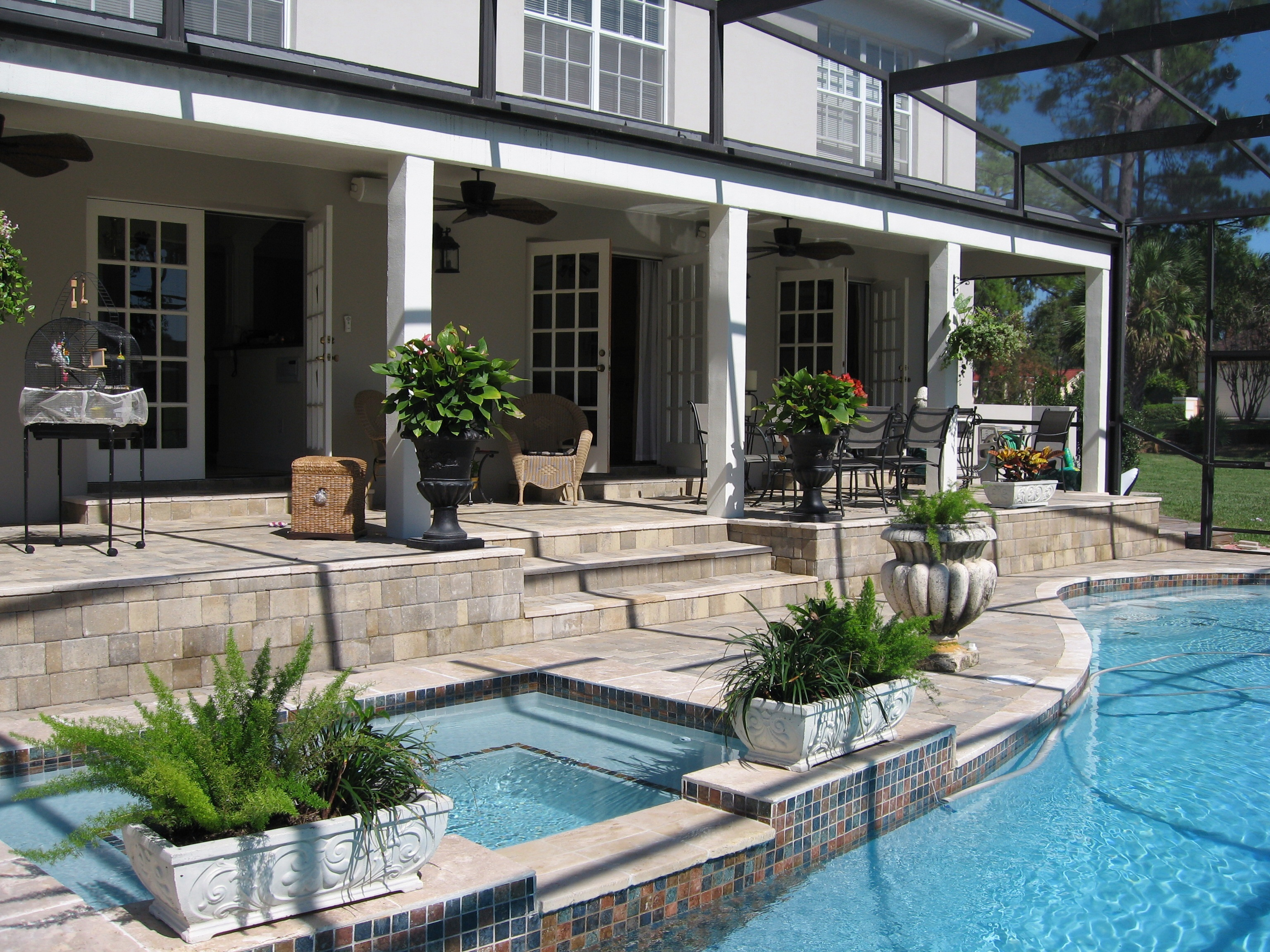pool pavers longwood orlando