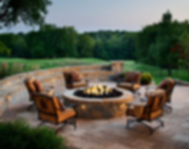 paver patio and fire pit orlando