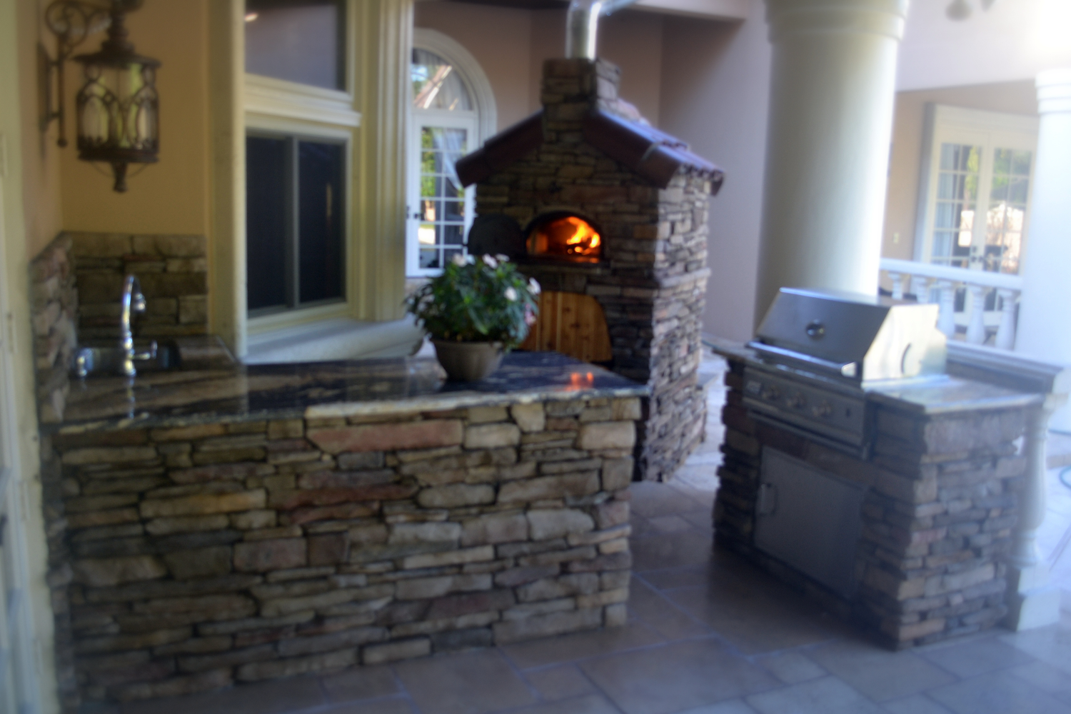 roman empire builders outdoor kitchen orlando