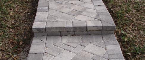 walkway step pavers orlando