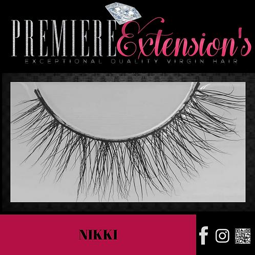 3D Mink Lashes-Nikki