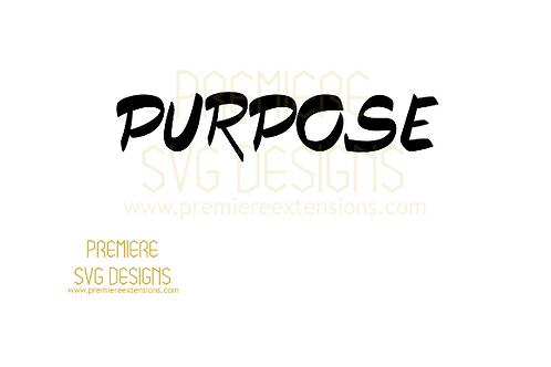 Purpose SVG