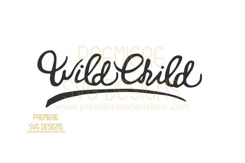 Wild Child SVG
