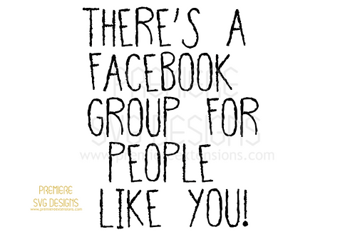 There's a Facebook group for people like you SVG