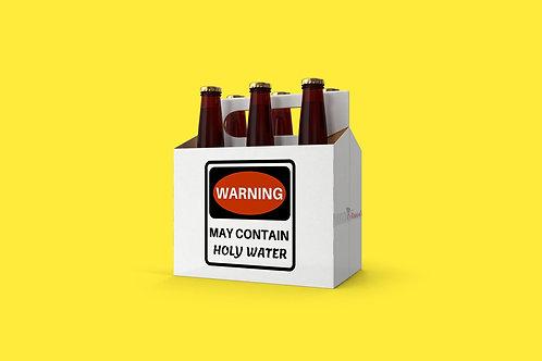 Warning May Contain Booze Bundle SVG