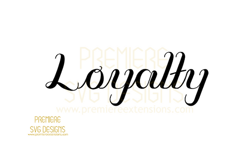 Loyalty SVG