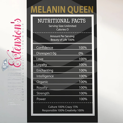 Melanin Ingredients SVG