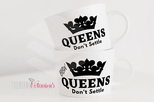 Queens Don't Settle Bundle + (BBW) SVG