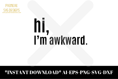 Hi I'm Awkward SVG