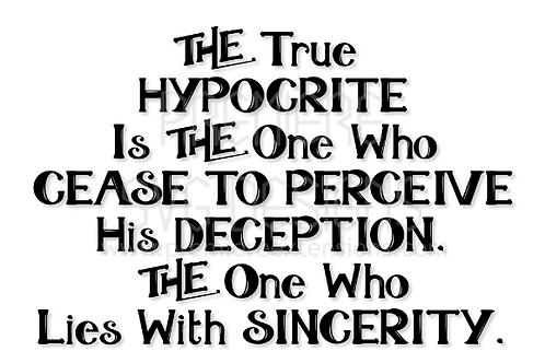 Hypocrisy SVG