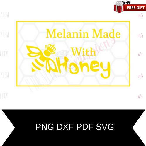 Melanin Made With Honey 1svg