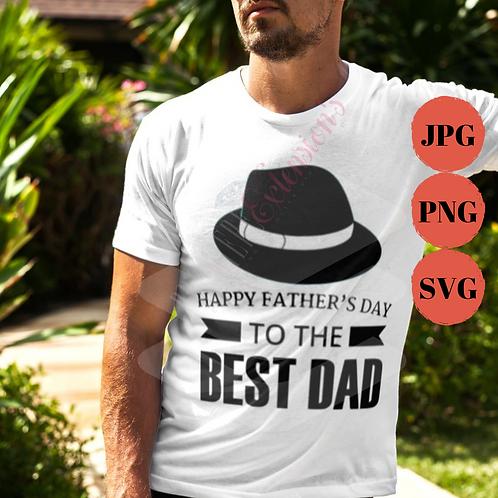 The Best Dad SVG