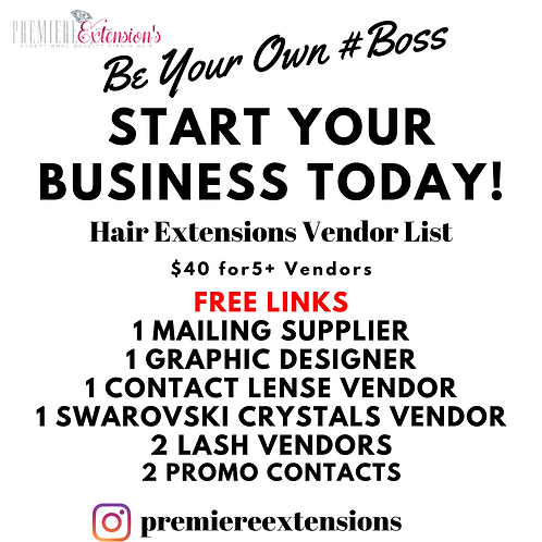 Exceptional Quality Wholesale Hair Extensions 5+ Vendor List