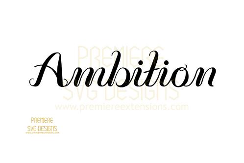 Ambition SVG