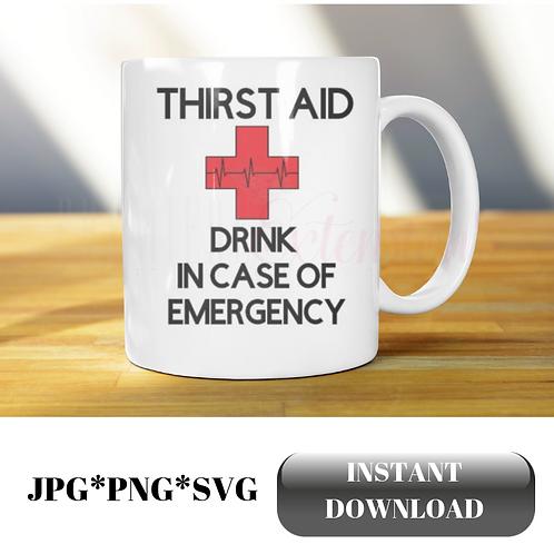 Thirst Aid SVG