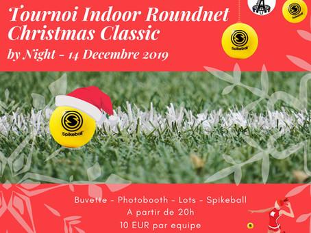 Christmas Classic - Tournoi de Roundnet - 14 décembre 2019