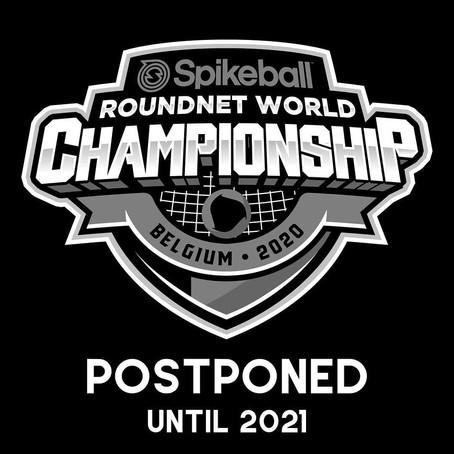 Report des championnats du monde en 2021