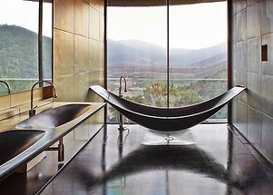 Luxuxbadezimmer Fugenlose Boden im Badbereich