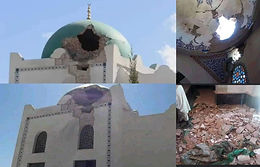 Ethiopia conflict: Outrage over damage to Tigray mosque