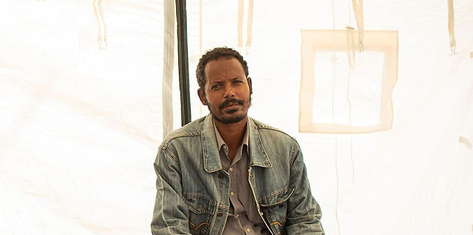 The people who fled Tigray
