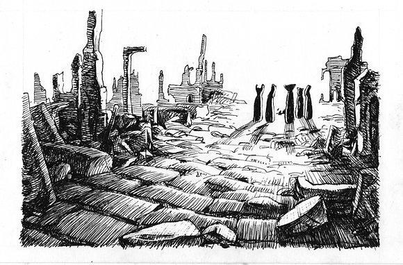 Ustrinas in Ruins