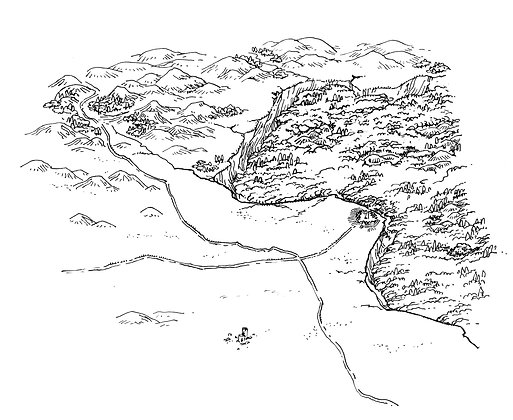 Stonetop and Surroundings Map