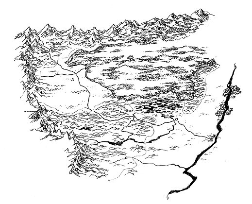 Large Scale Map
