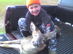 Zach 1st deer