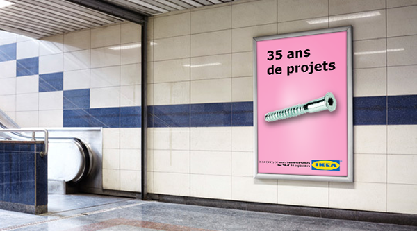 Campagne Print IKEA