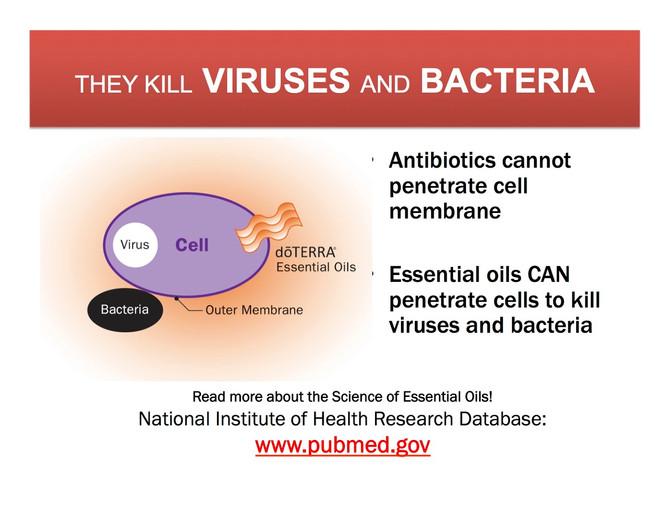 Essential Oils for Viruses