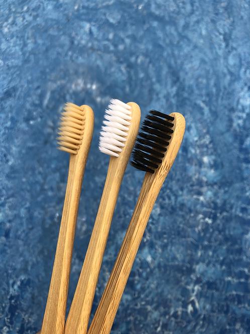 Escova de bambu mosso - 100% biodegradável