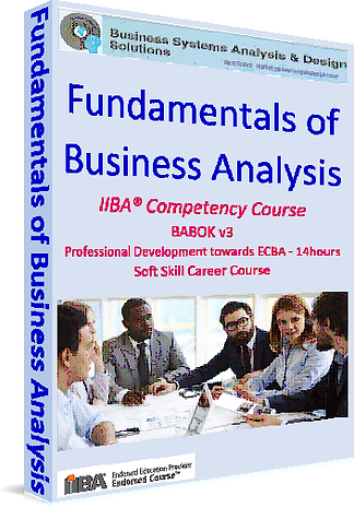 trainingbusinessanalysis-Fundamentals of Business Analysis