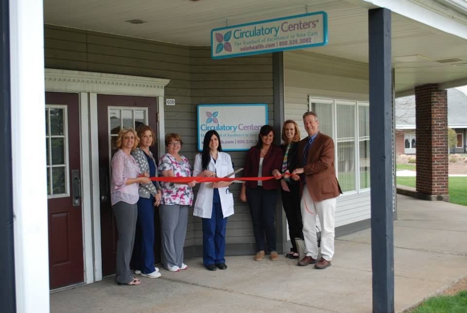 Circulatory Centers Ribbon Cutting