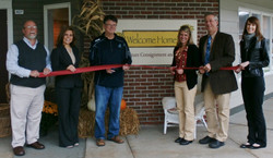 Welcome Home Ribbon Cutting