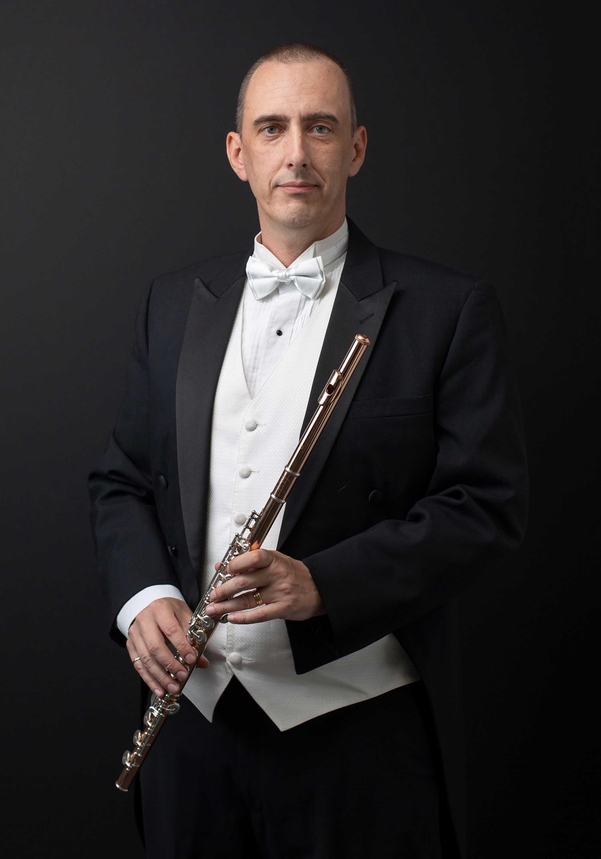 Flutist Flautist Portrait by Richmond Vancouver based photographer Sally Abdel Razak