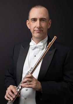 Classical Musician Flutist Flautist Headshot Portrait by Richmond Vancouver BC based portrait photog