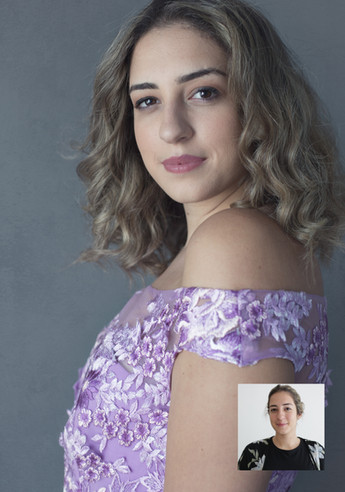 Before & After Image by Richmond Vancouver BC based portrait photographer Sally Abdel Razak