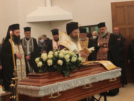 Опело и погребение на иконом Димитър Москов